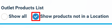 show products